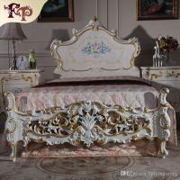 2017 Baroque Antique Furniture Bedroom Rococo Style Bed ...