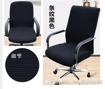 lift chair covers swivel vanity with wheels large size office computer cover side zipper design arm recouvre chaise stretch rotating disposable