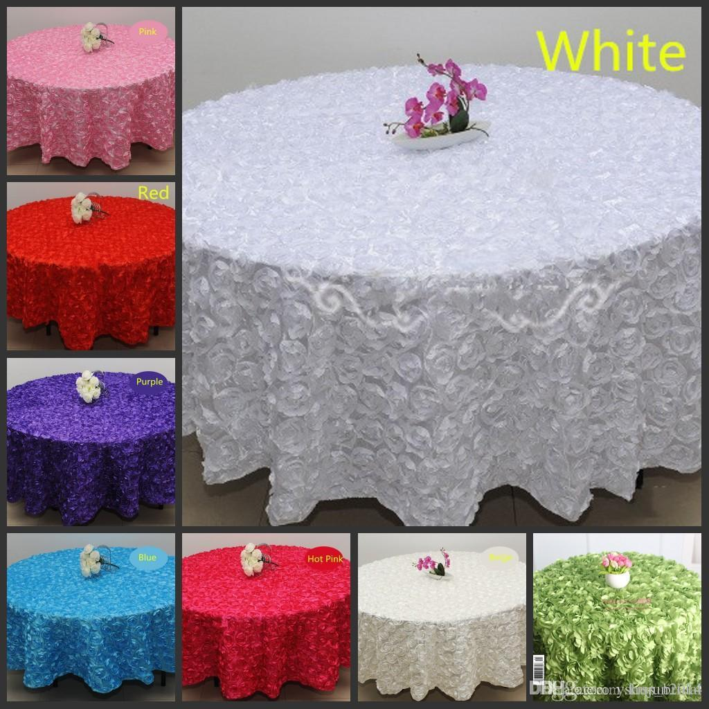 cheap chair covers and linens ikea mat wholesale white 2 4 m wedding round table cloth overlays