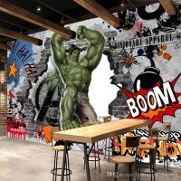 Avengers Photo Wallpaper Custom 3d Hulk Wallpaper Graffiti ...