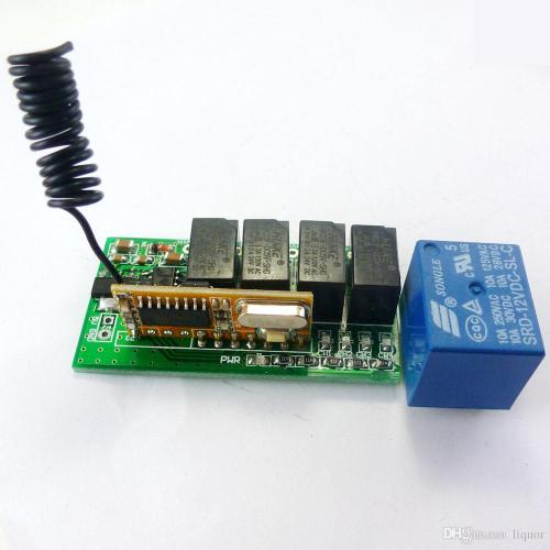 small resolution of 2019 super mini dc 5v 9v 12v 433 92m 4ch rf wireless remote control relay switch for pt2262 ev1527 fixed learning code from liquor 11 29 dhgate com