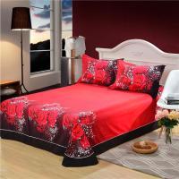 Salin 3d Red Rose Bedding Sets Bed Linen Bed Sheets Wolf ...