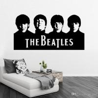 Retail Sample Beatles Wall Art Decals Vinyl Wall Stickers ...