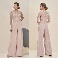 Cheap Jumpsuits Lace Mother Of The Bride Pant Suits Bateau ...