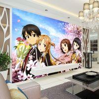 Sword Art Online Photo Wallpaper Wall Mural Custom Anime ...