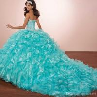Masquerade Ball Gown Luxury Crystals Princess Puffy ...