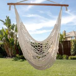 Tree Hanging Hammock Chair Baby Activity Reviews 2017 Deluxe Cotton Rope Patio Porch Yard