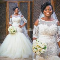 New Design African Style Ivory Wedding Dresses 2017 ...