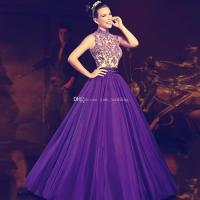 Purple Masquerade Ball Gown Quinceanera Dresses 2017 High ...