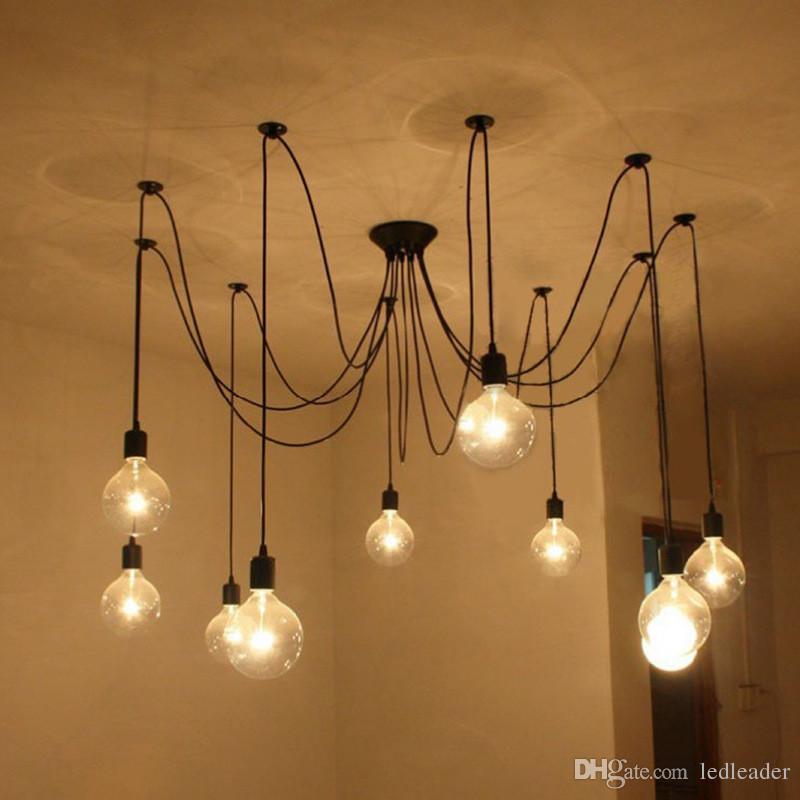 hanging light fixtures living room remodeling ideas for 2019 l2 diy pendant lights modern nordic retro lamps edison bulb spider ceiling lamp fixture from ledleader