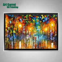 2017 Handmade Colourful Knife Oil Painting Canvas Art