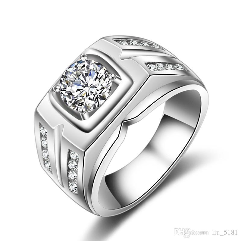 grosshandel hot luxury new braut hochzeit ringe 1 25 ct g h kissen prinzessin cut beste qualitat nscd synthetischen diamanten ring von liu 5181