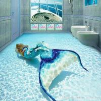 3d Mermaid Wallpaper Ocean Photo Wallpaper Custom Wall ...