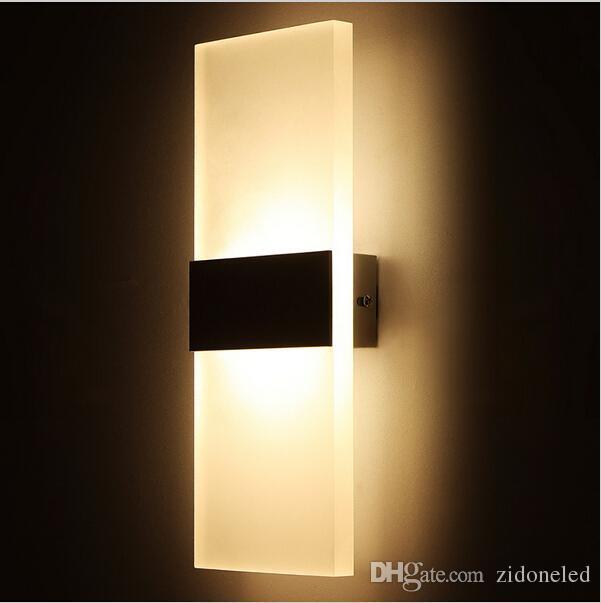 Modern 16w Led Wall Lights For Kitchen Restaurant Living Bedroom