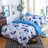New Elegant Cotton Bedding Set For Fall Winter Floral ...