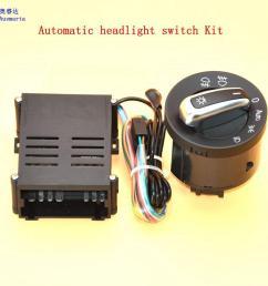 2 pcs car lights switch chrome auto sensor light for vw passat b5 lavida bora polo golf 4 new jetta santana beetle 5nd941431b [ 1000 x 1000 Pixel ]