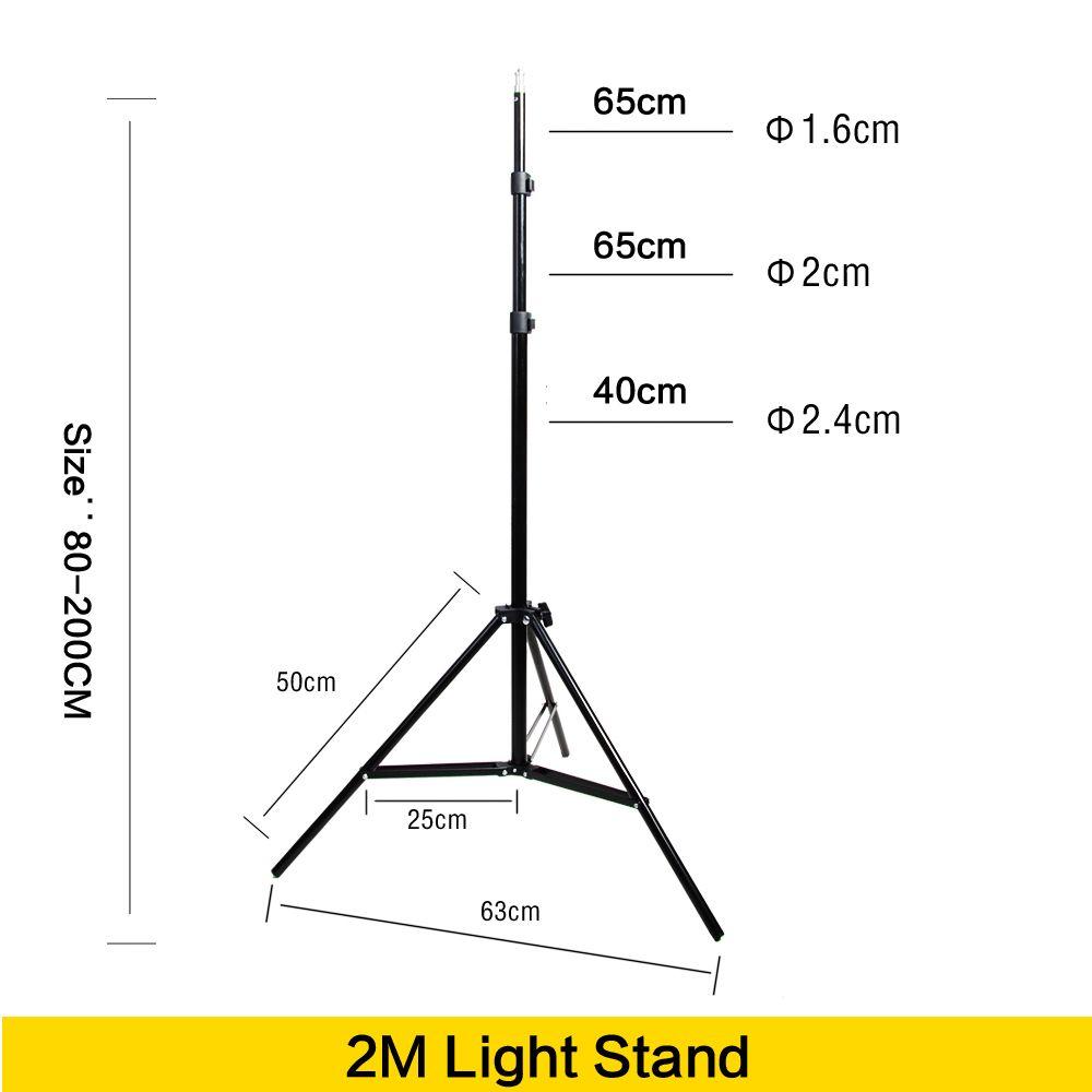 medium resolution of 2019 wholesale photo 2m light stand tripod with 1 4 screw head for photo studio video flash umbrellas reflector lighting from jimlly 54 46 dhgate com