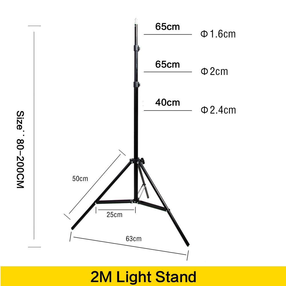 hight resolution of 2019 wholesale photo 2m light stand tripod with 1 4 screw head for photo studio video flash umbrellas reflector lighting from jimlly 54 46 dhgate com