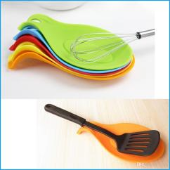 Kitchen Spoon Rest Retro Style Appliances Creative Holder Tomato Sauce Silicone Utensil Spatula Cooking Tool Canada 2019 From Fgfq Cad 1 22 Dhgate