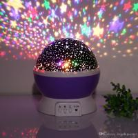 2017 Baby Night Light Star Projector 360 Degree Rotation 3