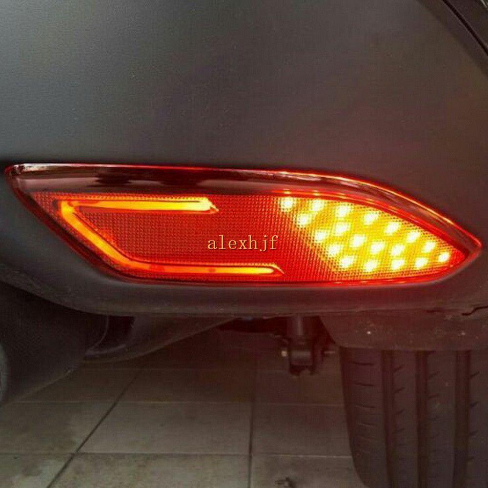hight resolution of car led brake lights led light guide night driving light case for honda vezel hrv hr v led rear bumper fog lamp canada 2019 from alexhjf