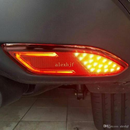 small resolution of car led brake lights led light guide night driving light case for honda vezel hrv hr v led rear bumper fog lamp canada 2019 from alexhjf