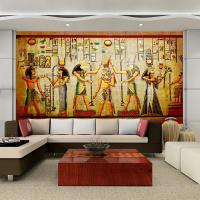 3d Egyptian Wall Murals Vintage Photo Wallpaper Custom