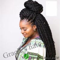 #1b Synthetic Braiding Hair Kanekalon Jumbo Braid Hair 24 ...