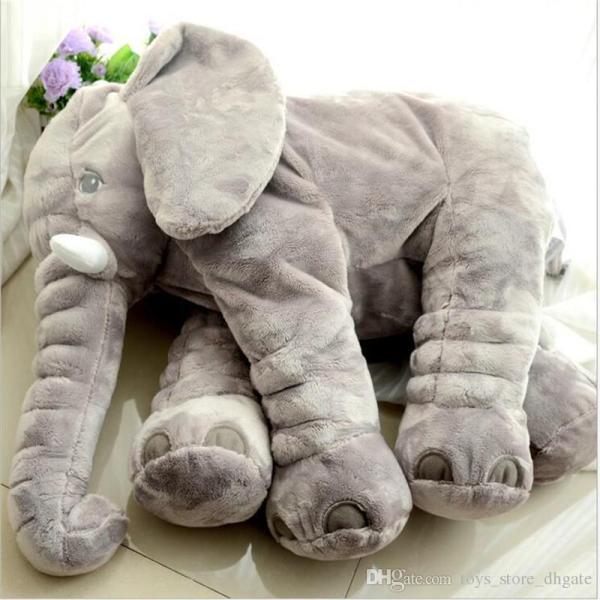2017 Giant Elephant Plush Toys Cute Baby Pillow