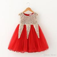 2018 2015 Boutique Baby Girl Dresses Children Clothing ...