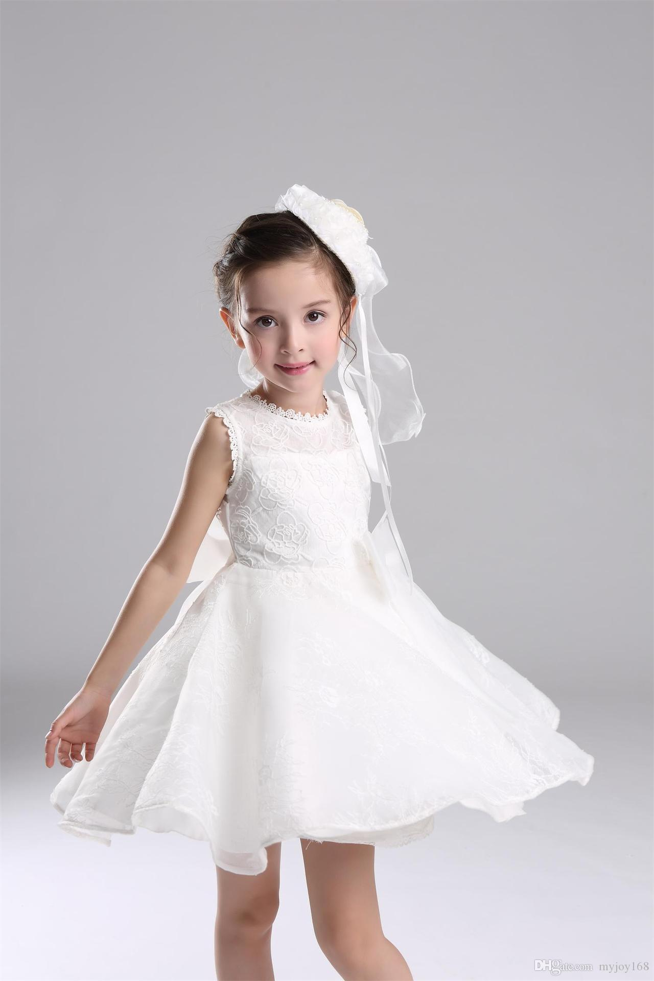 Baby Girl Dress Children Wedding Dress Princess Bridesmaid