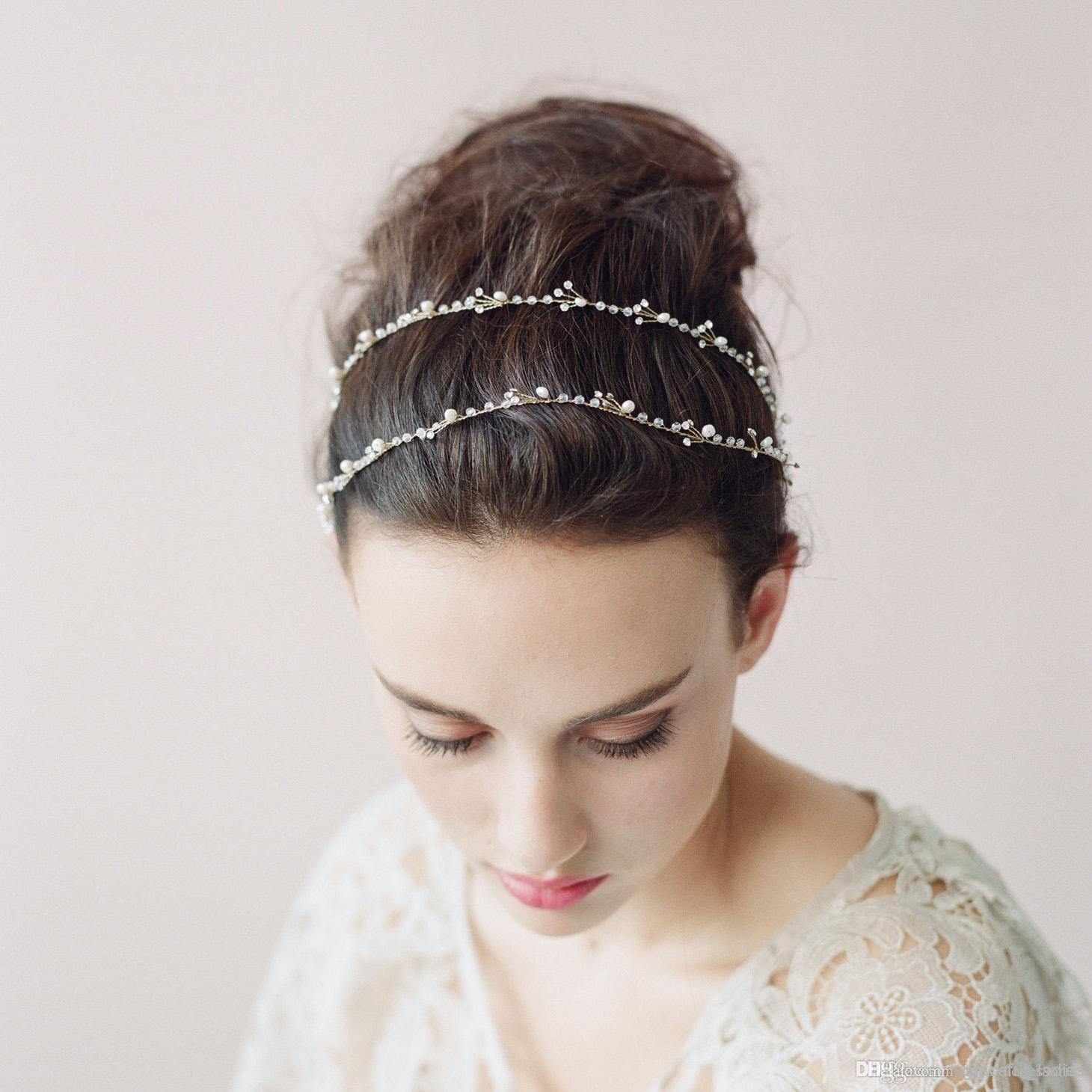 Bridal Hair Accessories Vine Fade Haircut