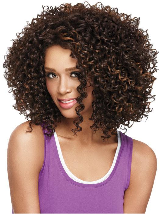Fashionstep 20 Inch Afro Kinky Curly Wig Sexy African