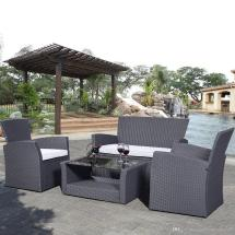 2017 Pe Rattan Wicker Sofa Set Outdoor Indoor Patio Garden