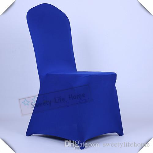 royal blue chair covers best chairs for back pain wholesales wedding spandex cover lycra banquet and party restaurant seats beaded bridal sash dress from