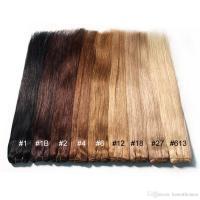 Cheap Brazilian Human Hair Extensions Straight 10 1# 1b# 2 ...