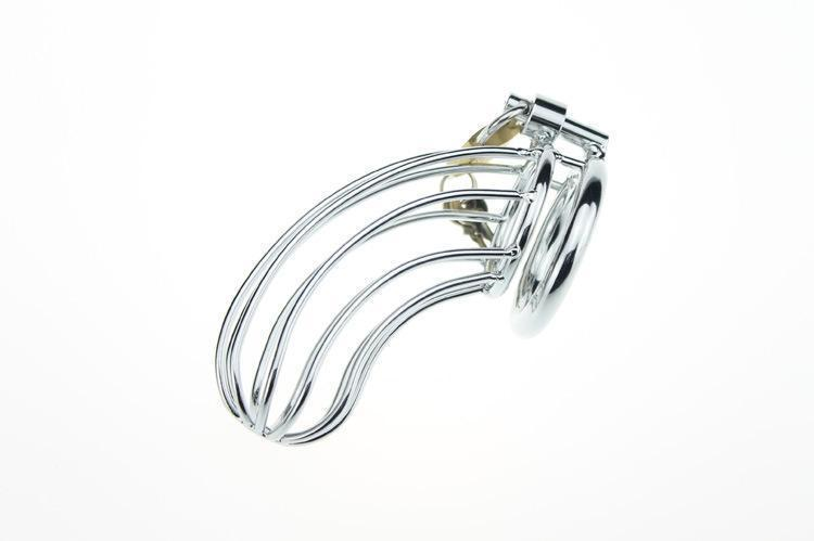 CB709 Stainless Male Chastity Cage Device Bondage Ceinture