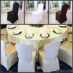 White Banquet Chair Covers American Company Wholesale Black Spandex For Wedding Hotel Decoration Decor Affordable Cheap To Buy From