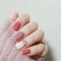 Short Square Acrylic Nails - NailArts Ideas