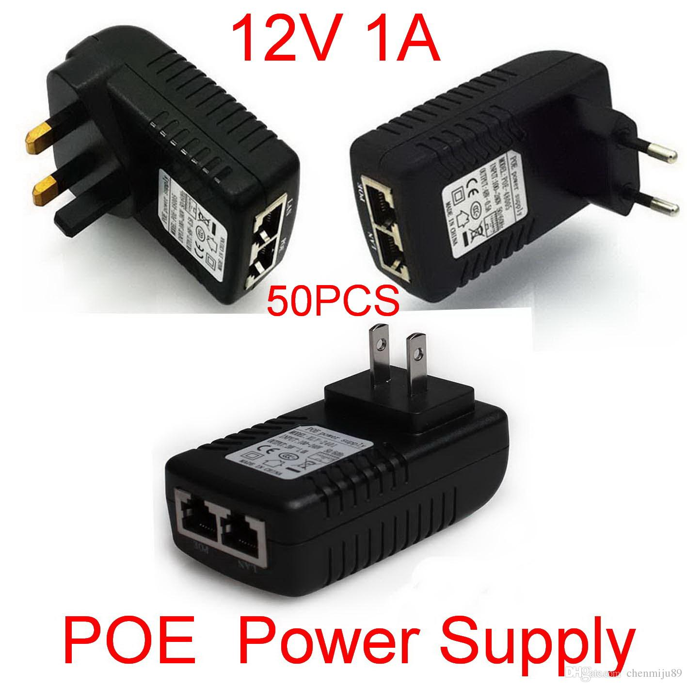 hight resolution of high quality dc 12v 1a wall plug poe injector ethernet adapter ip phone camera power supply dhl cheap electricity providers cheap electricity supply from