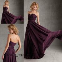 Regency Eggplant Purple Bridesmaid Dresses New Arrival ...