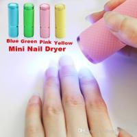 Best Quality Mini 9 Led Uv Gel Curing Lamp Without Battery ...