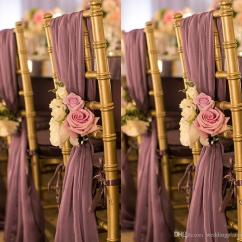 Flower Chair Sashes For Wedding Big Comfy Chairs 2018 Romantic Oceanfront Garden Cover Back