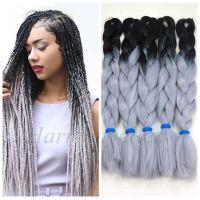 Stock Two Tone Color Synthetic Yaki Braiding Hair/2 Tone ...