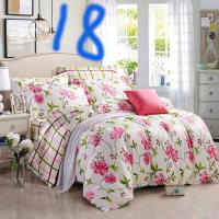 Fashion Girls Fairy Floral Bedding Set Flower Garden Bed