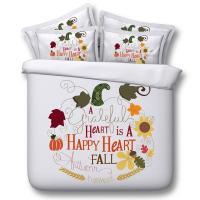 Fall Harvest Thanksgiving Bedding Set Duvet Cover ...
