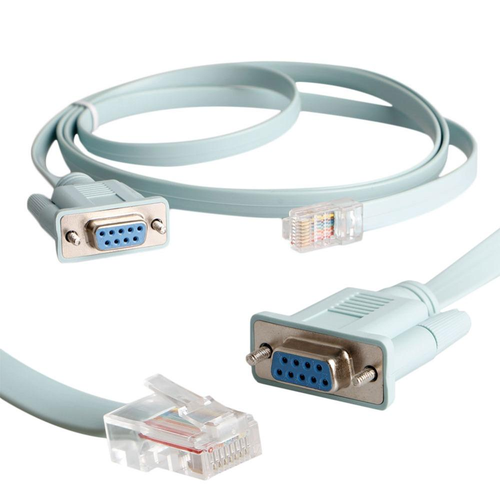 medium resolution of wholesale rj45 cat5e cat6 to rs232 db9 console router cable computer cat 6 wiring rs232