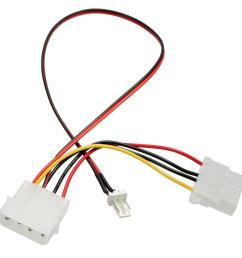wholesale new arrival 3 pins to 4 pins ide power connector cable extension cord adapter for pc cpu fan computer cables connectors cables for less pc cables  [ 1200 x 1200 Pixel ]