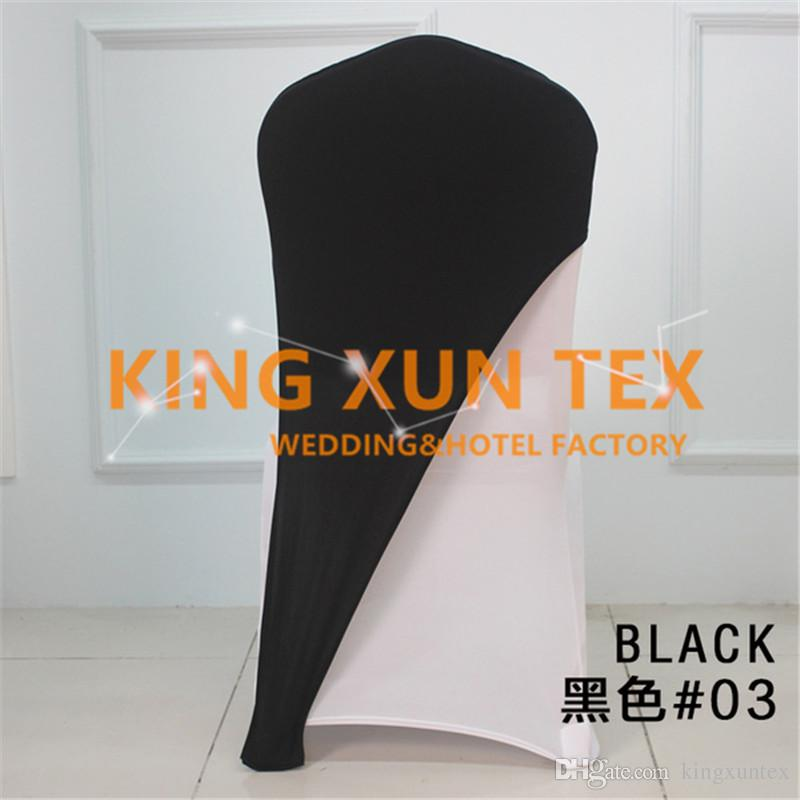 used spandex chair covers bailey plans bulk salle price lycra cap hood for banquet wedding 100pcs cover decoration free shipping