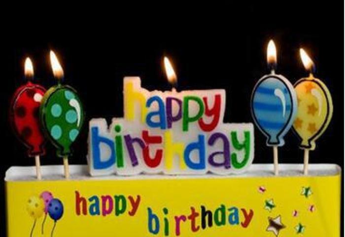 Wholesale Happy Birthday Candles Cartoon Balloon Letter Birthday